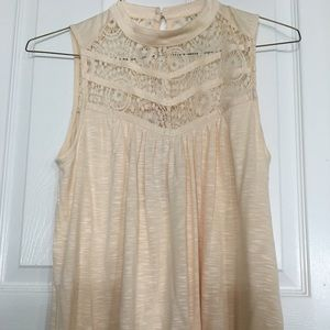 Skies are blue at Evereve NWT lace top